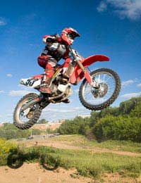 Motocross Dangerous Sport Accidents